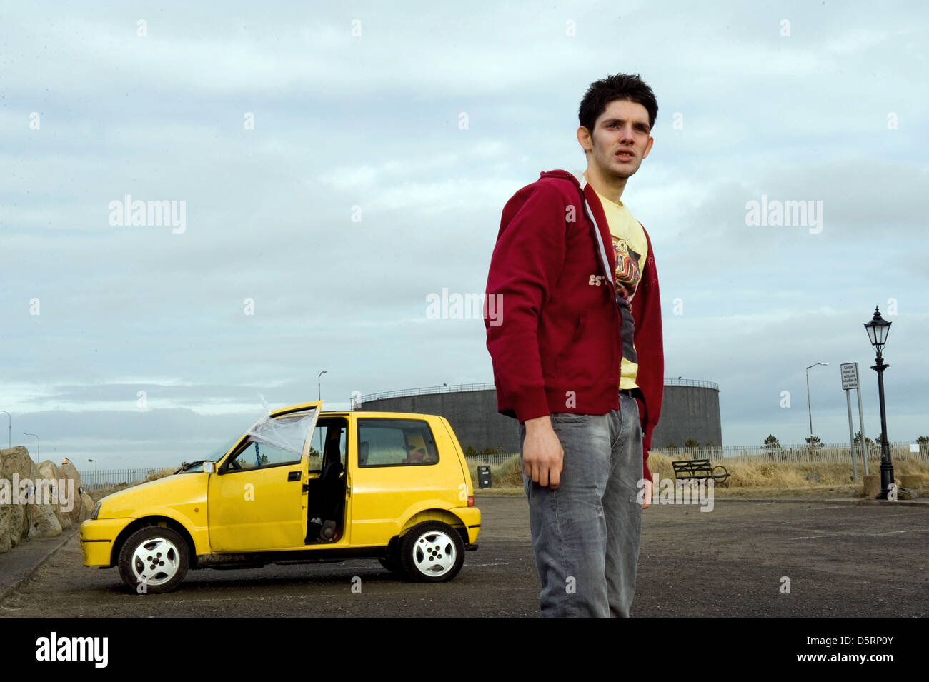 COLIN MORGAN PARKED (2010) - Stock Image