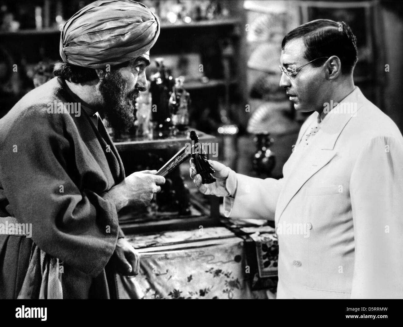 PETER LORRE MR. MOTO TAKES A CHANCE (1938) - Stock Image