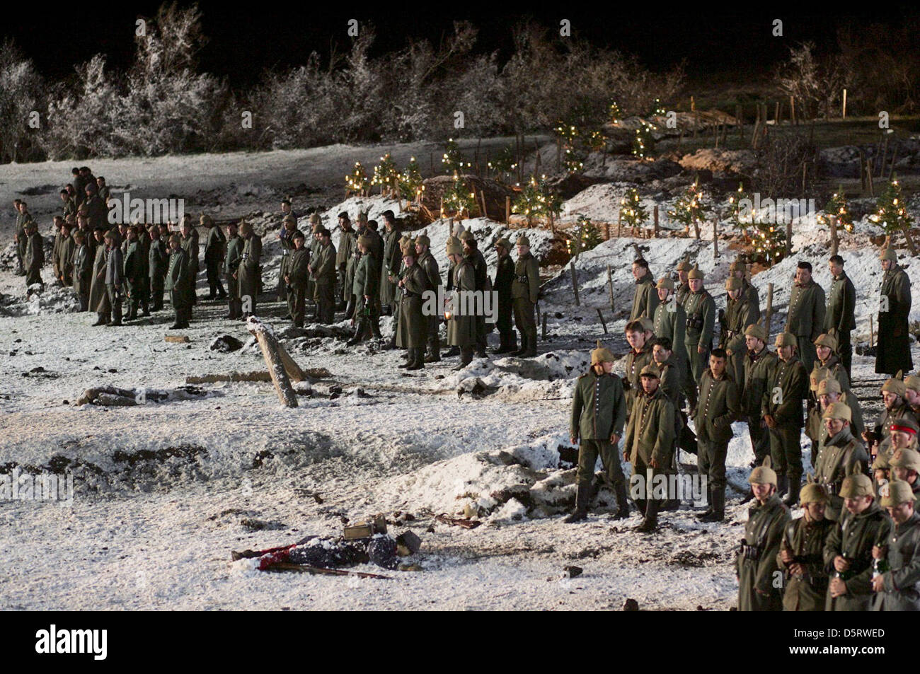 MOVIE SCENE MERRY CHRISTMAS; JOYEUX NOEL (2005 Stock Photo: 55229285 ...