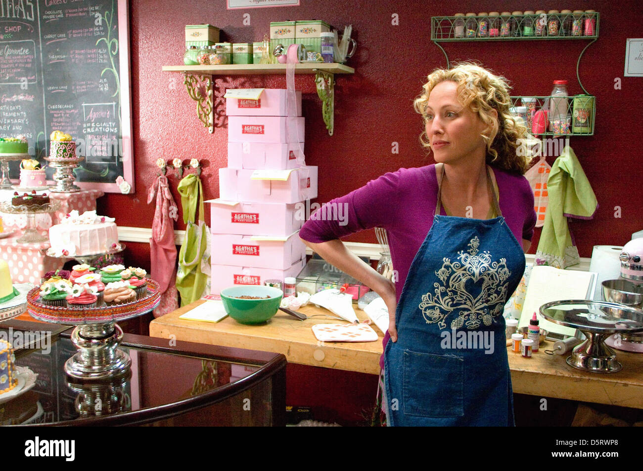 VIRGINIA MADSEN THE NUMBER 23 (2007) - Stock Image