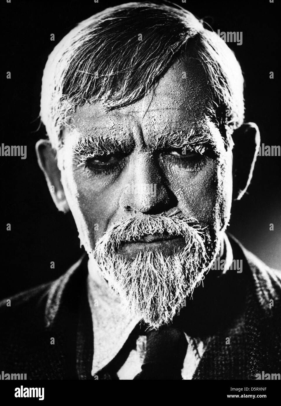 BORIS KARLOFF THE MAN WITH NINE LIVES (1940) Stock Photo