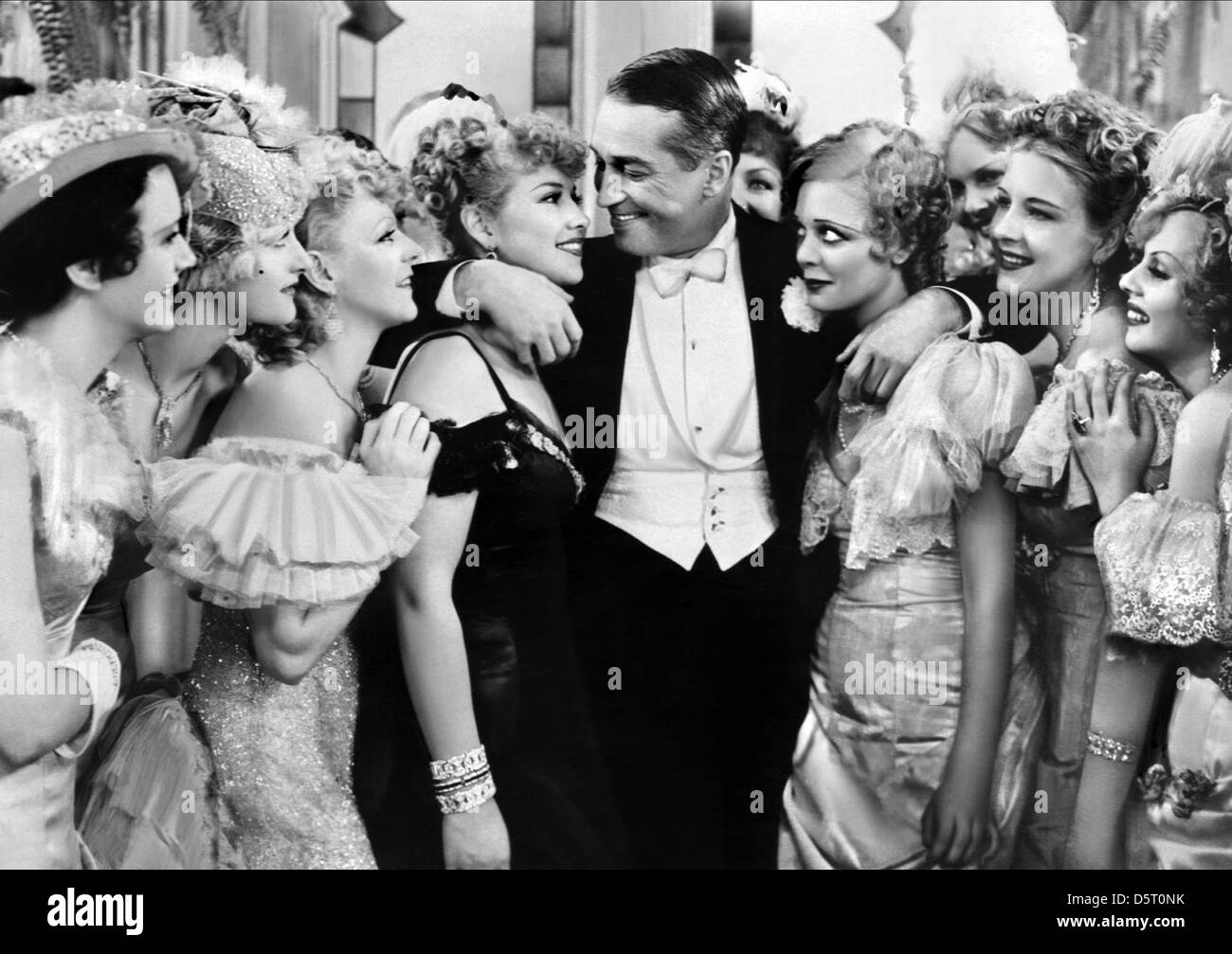 MAURICE CHEVALIER THE MERRY WIDOW (1934) - Stock Image