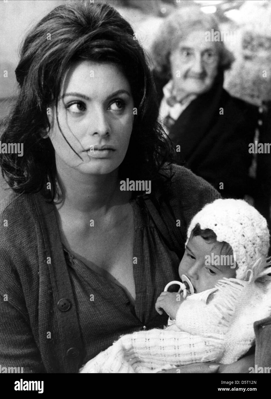 Sophia Loren Baby Yesterday Today And Tomorrow 1963 Stock Photo Alamy