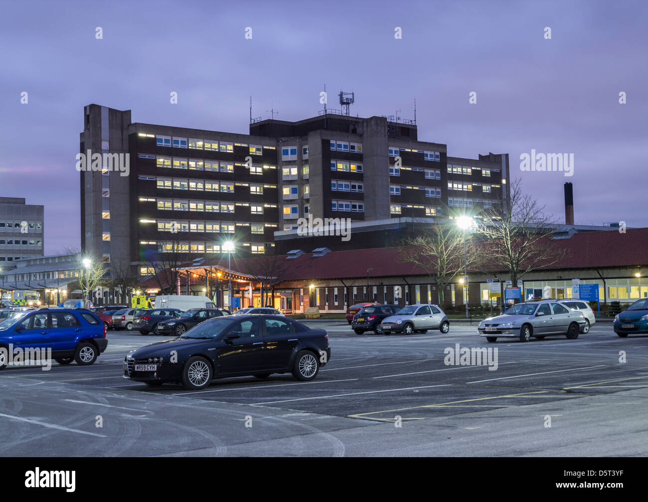 North Tees Hospital at Hardwick near Stockton on Tees, England, UK - Stock Image