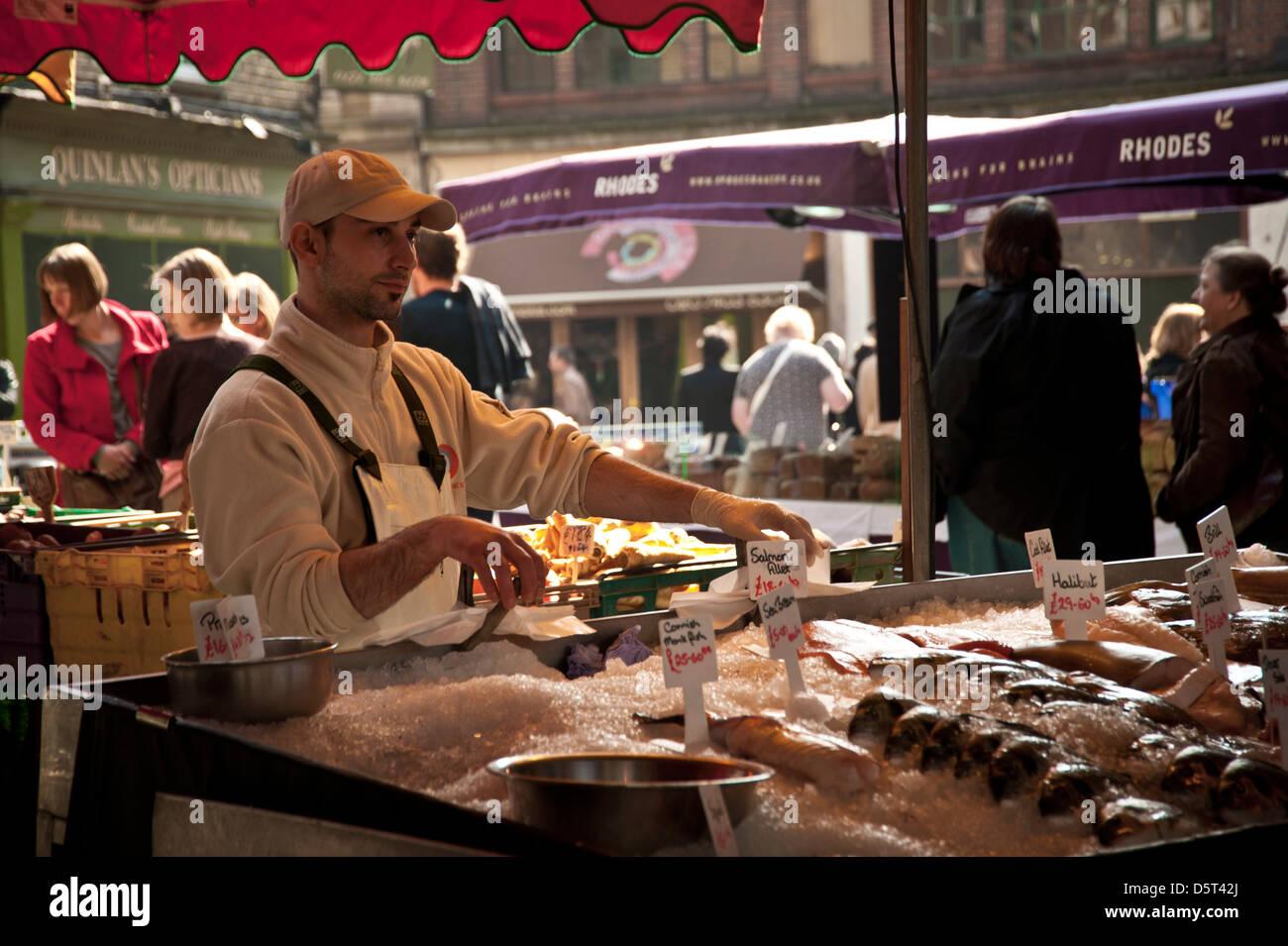 Borough Farmers Market, London - Stock Image
