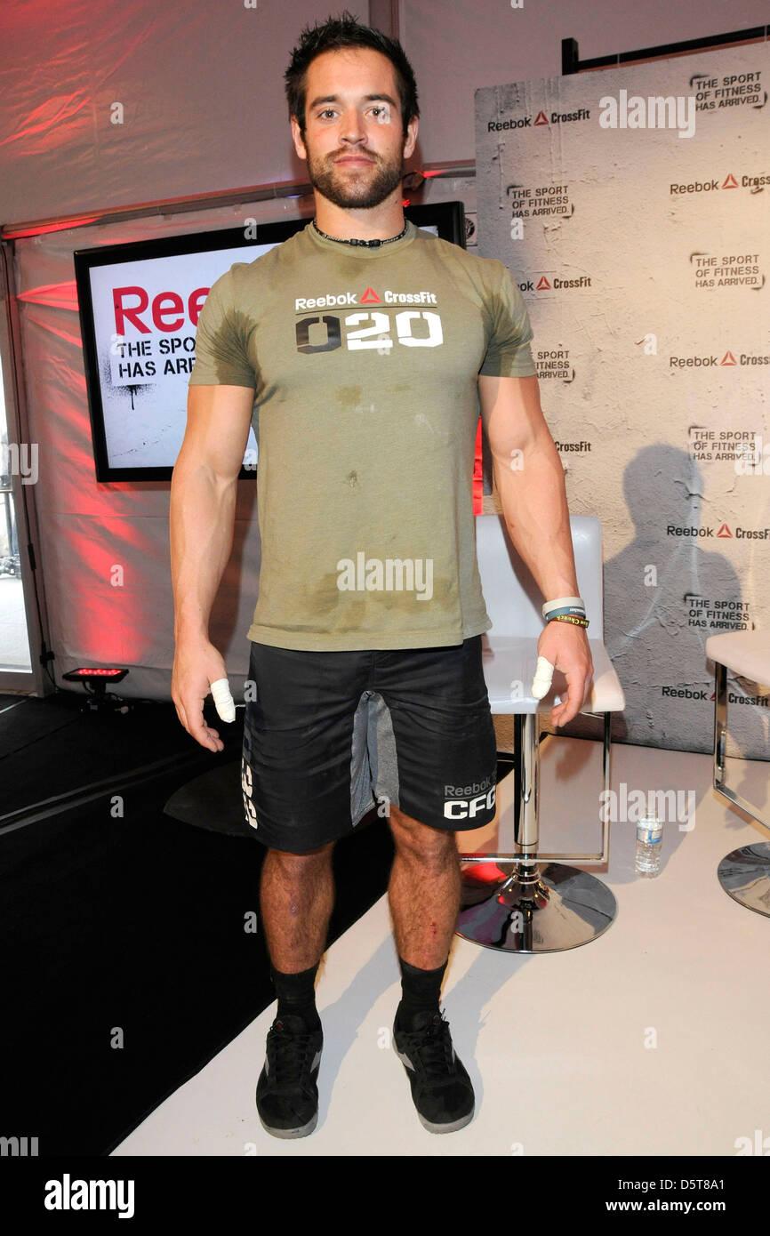 rich froning jr 2011 fittest man on earth reebok crossfit stock