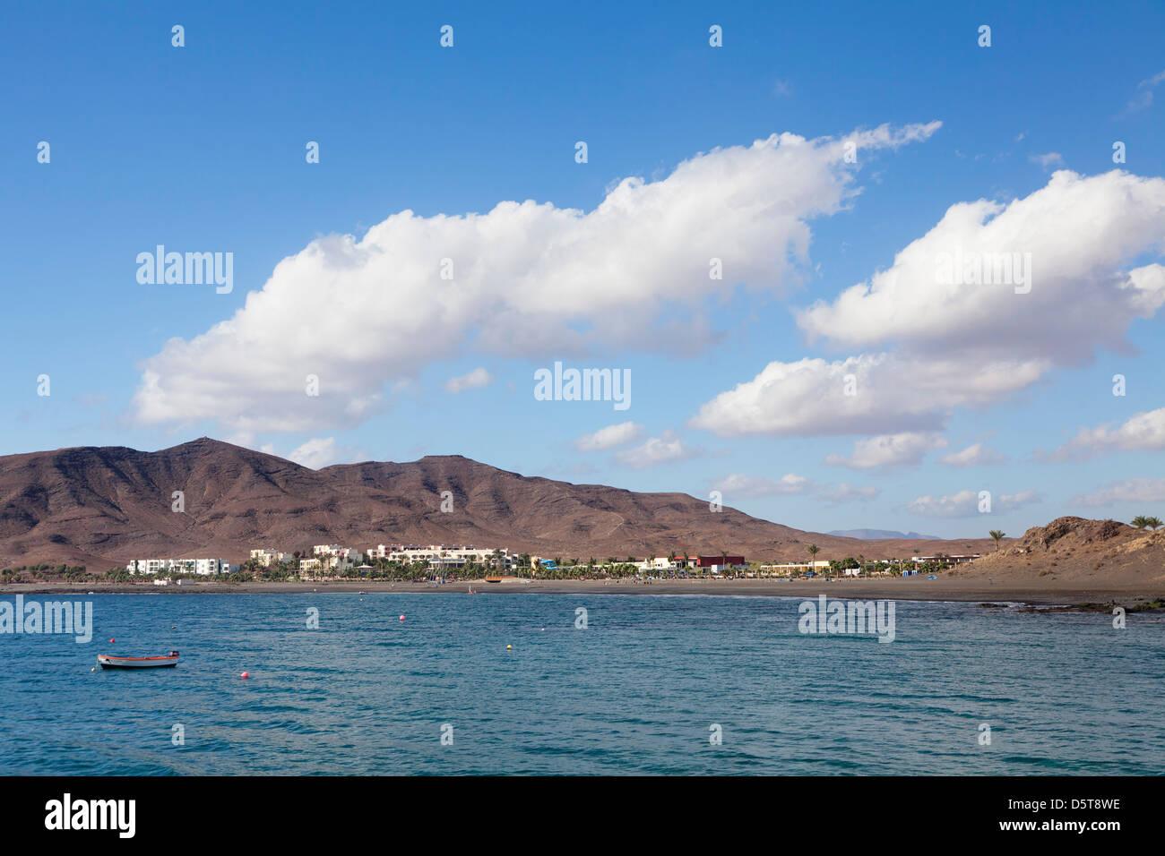 Bay of Las Playitas, Fuerteventura, Canary Islands, Spain Stock Photo