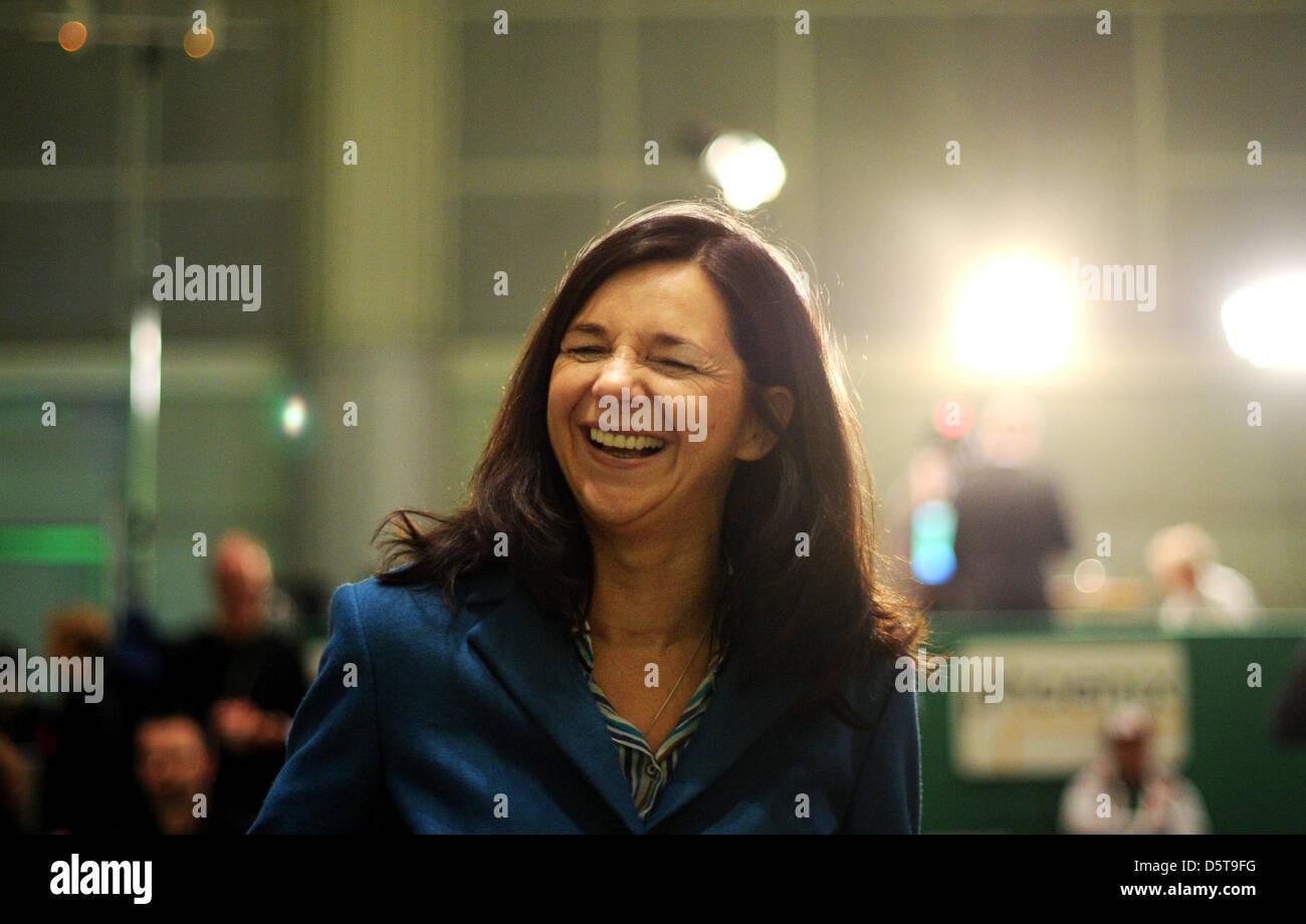 top candidate katrin gring eckardt during the federal delegate conference of alliance 90the - Goring Eckardt Lebenslauf
