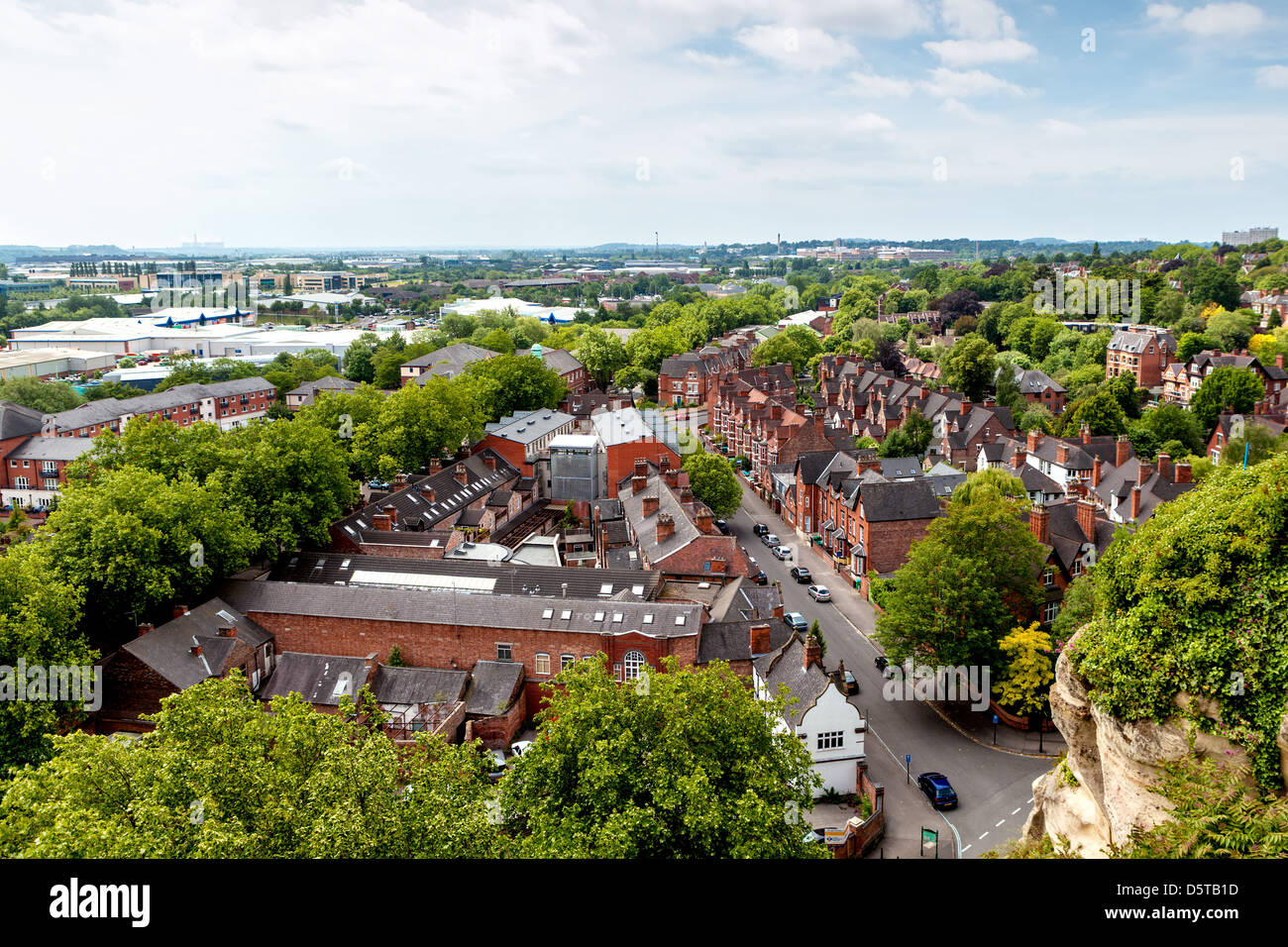 Nottingham - Stock Image