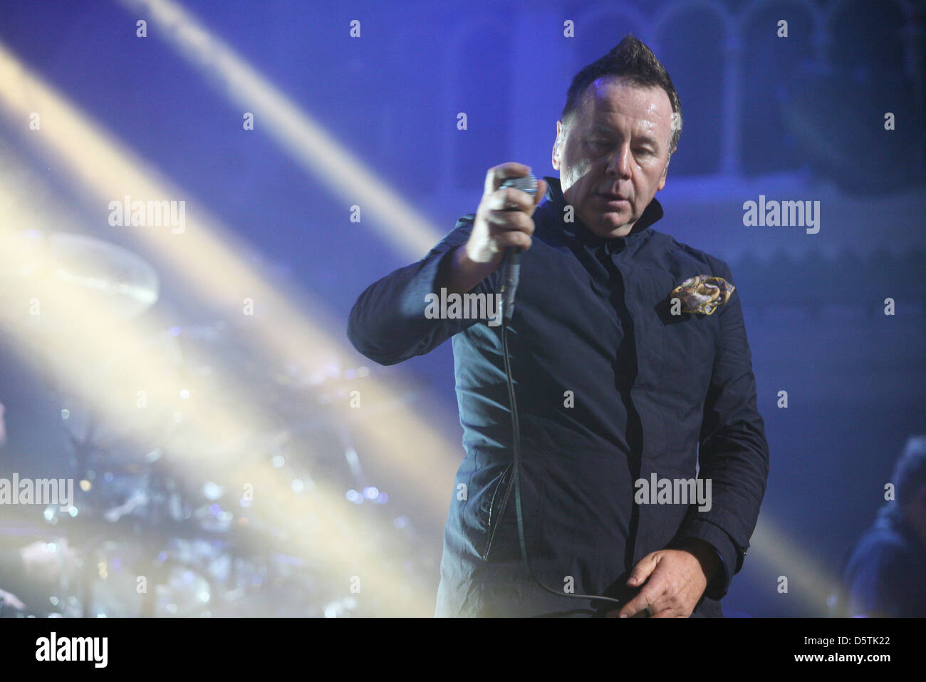 Jim Kerr Simple Minds performing at the Paradiso in Amsterdam Amsterdam, The Netherlands - Stock Image