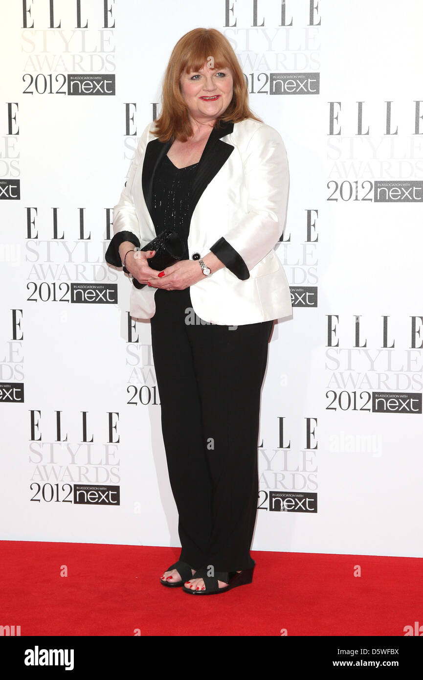 Lesley Nicol The ELLE Style Awards 2012 held at The SavoyArrivals London, England - Stock Image