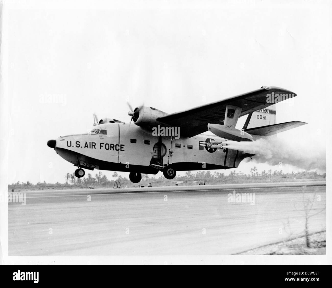 "Grumman SA-16A ""Albatross"" Stock Photo"