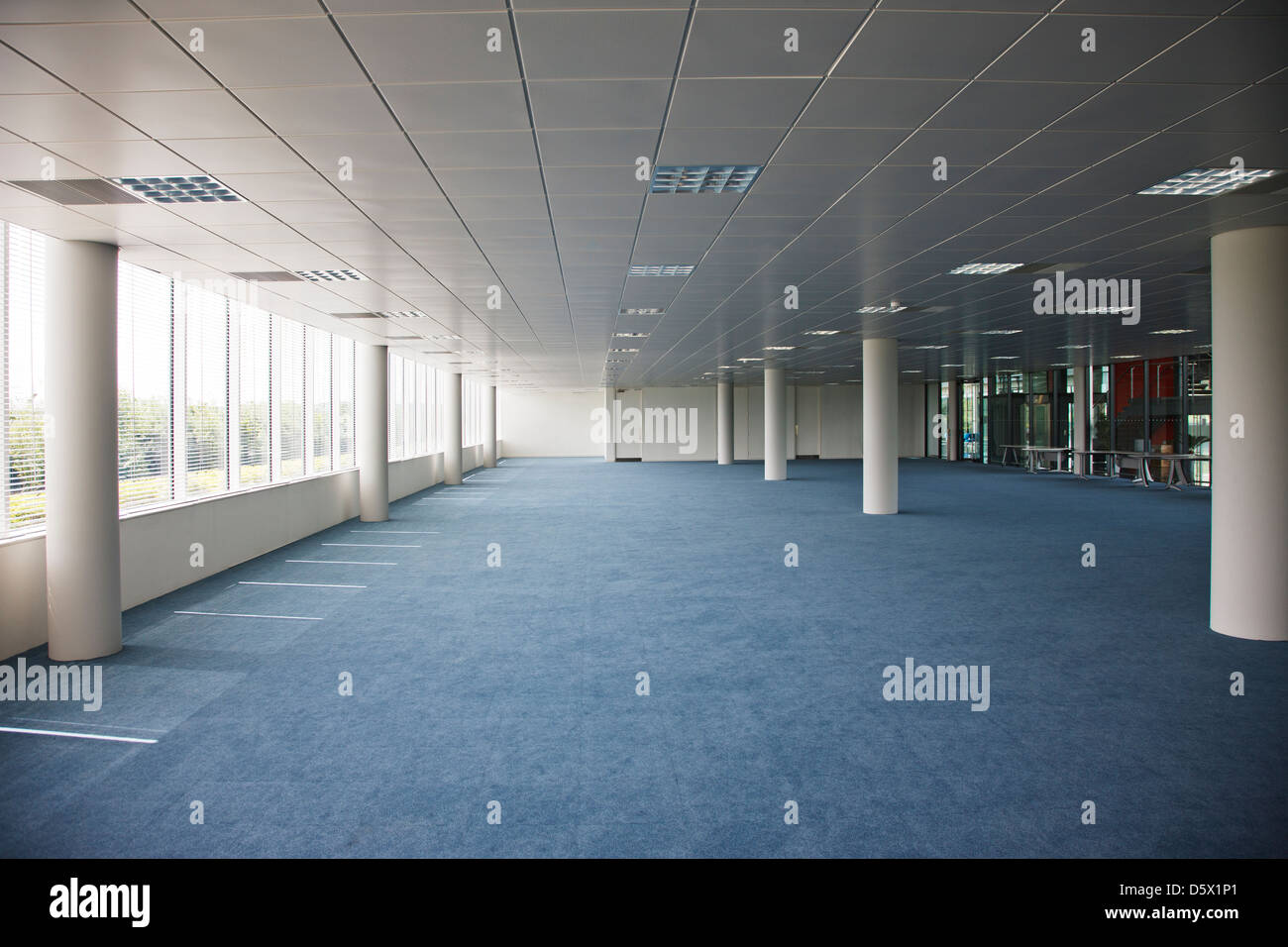 Empty office building - Stock Image
