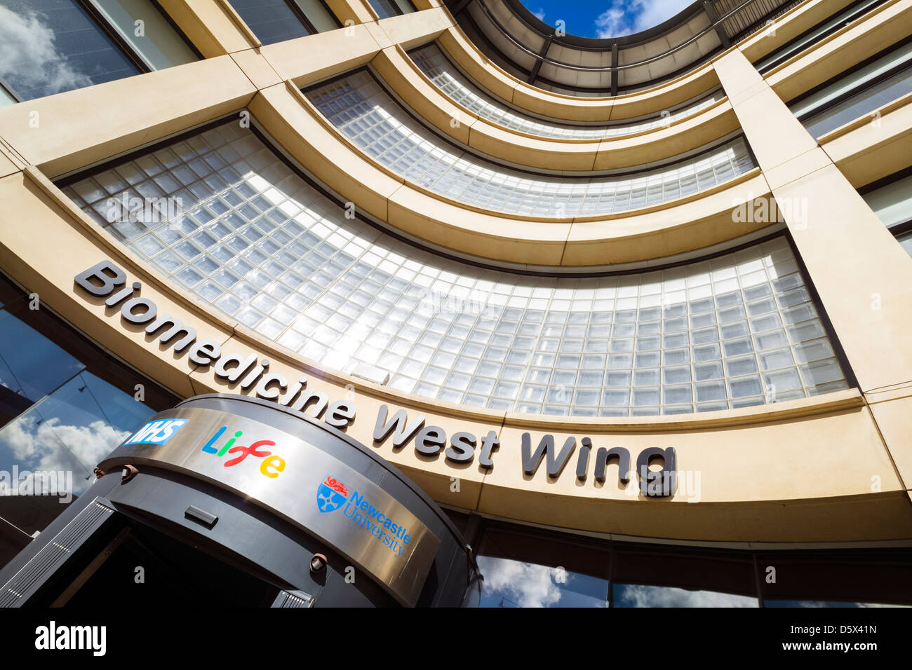 Biomedicine West Wing at Life, Centre for world class science. - Stock Image
