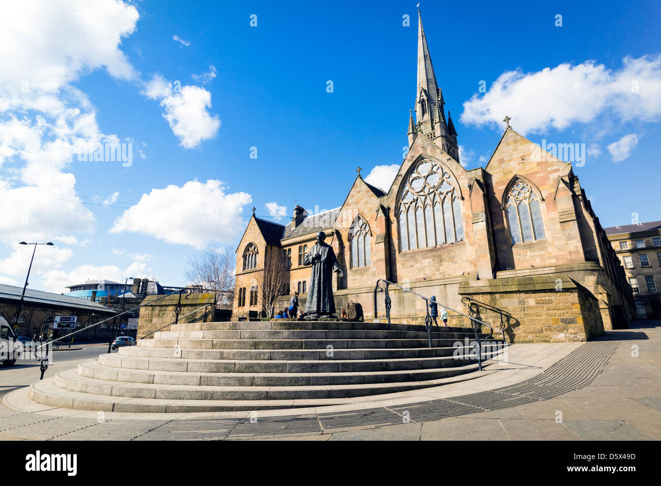 The Cathedral Church of St Mary, Newcastle Upon Tyne. - Stock Image