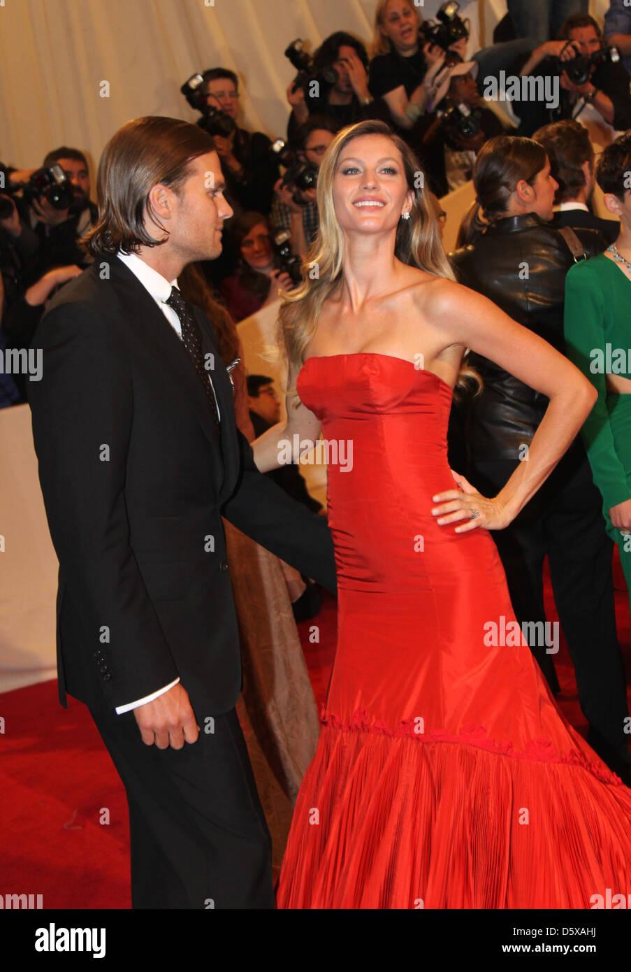 Tom Brady, Gisele Bundchen Alexander McQueen: 'Savage Beauty
