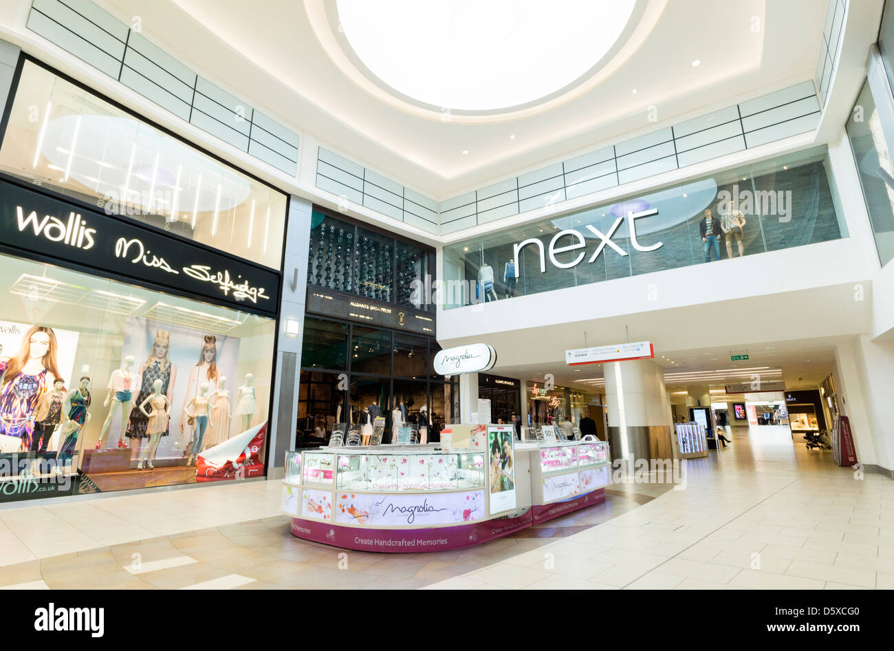 Eldon Square shopping centre in Newcastle Upon Tyne - Stock Image