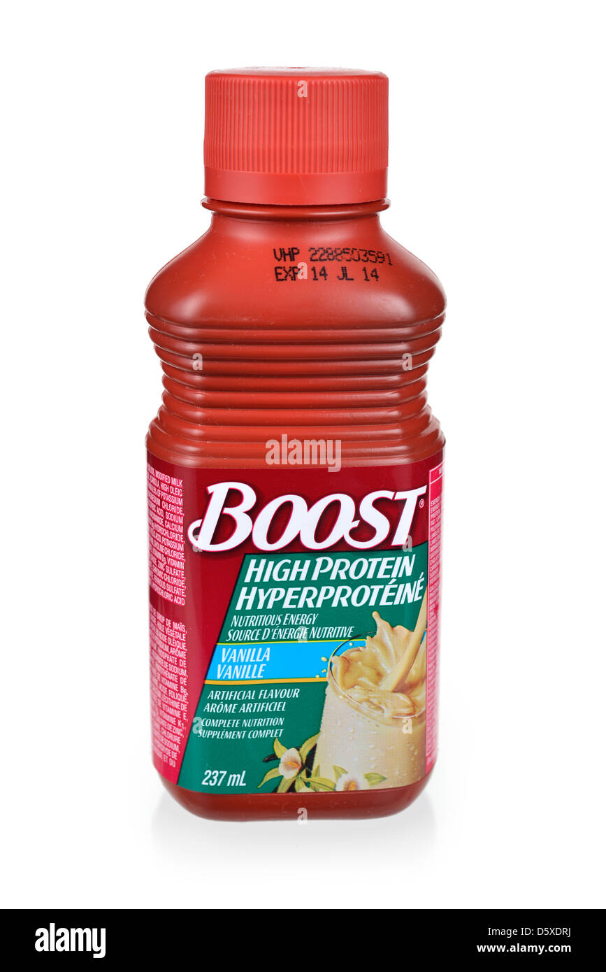 Boost, Dietary Supplement, Meal Replacement - Stock Image