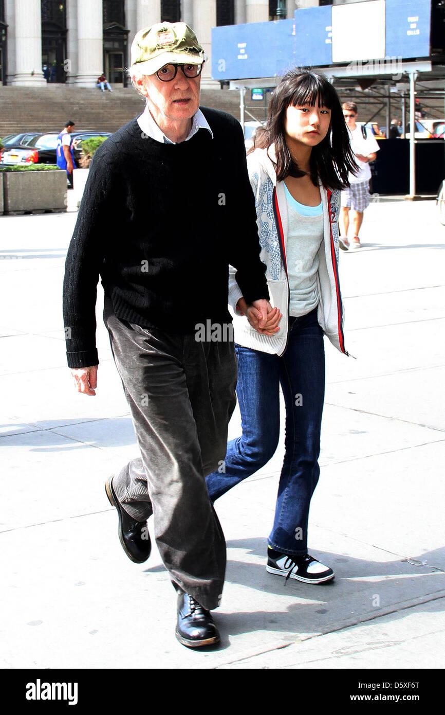 Woody Allen's School Run | Celebrity Baby Scoop
