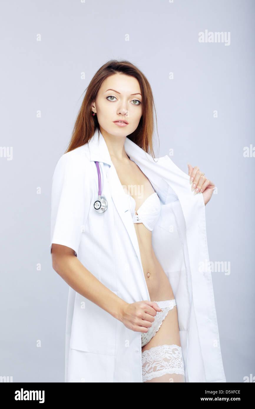 Sexy Female Hospital Doctor