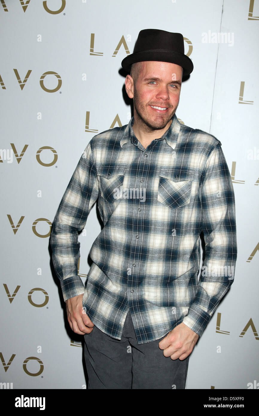 Perez Hilton Kat Graham from 'The Vampire Diaries' hosts at LAVO Nightclub at The Palazzo Resort and Casi - Stock Image