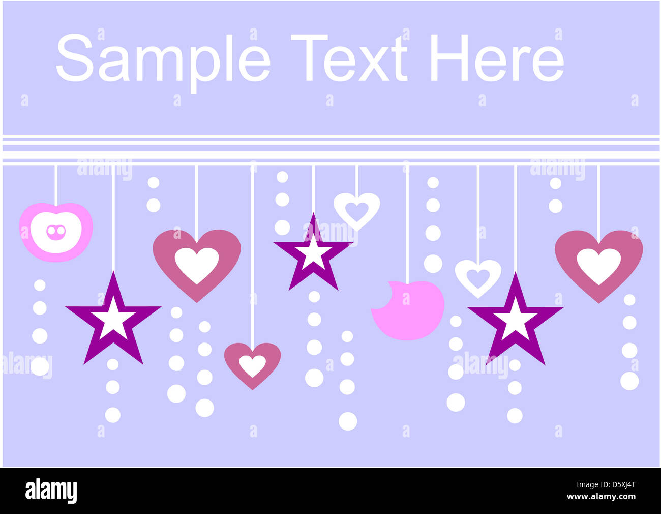Holiday textspace in color 01 - Stock Image