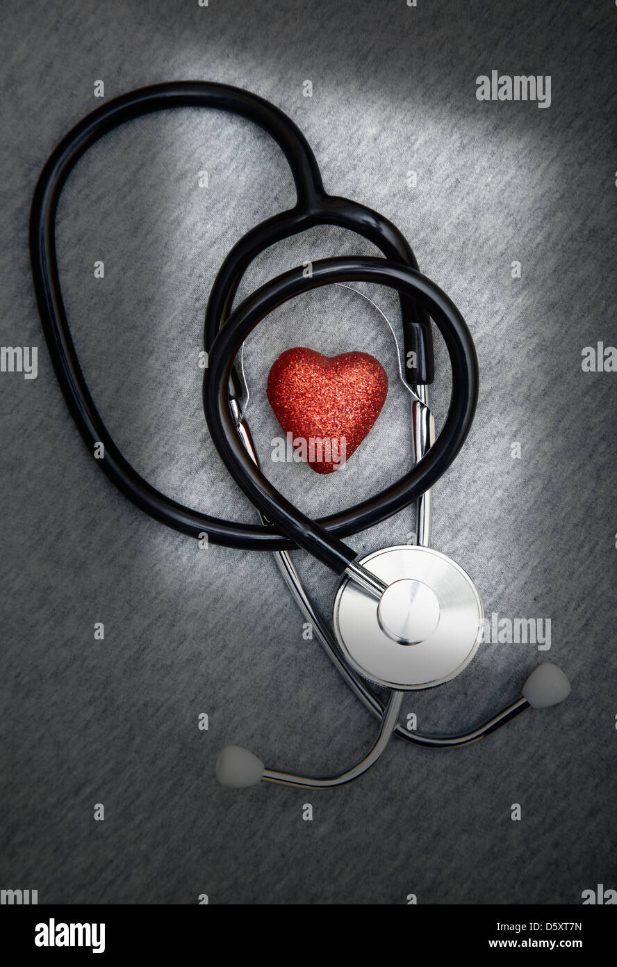 Heart care - Stock Image