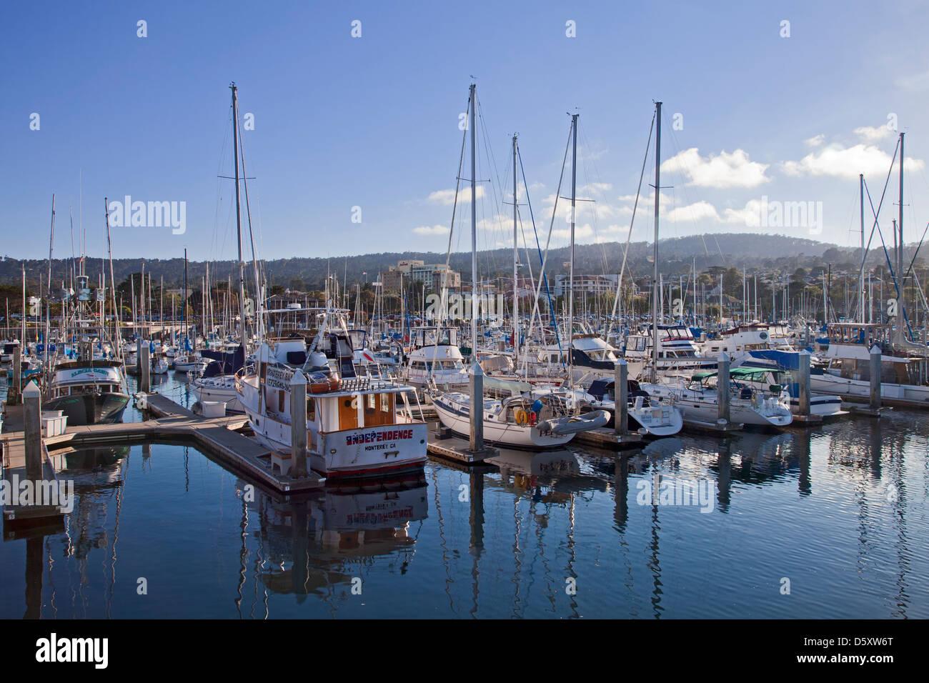 Monterey Bay, California, USA - Stock Image