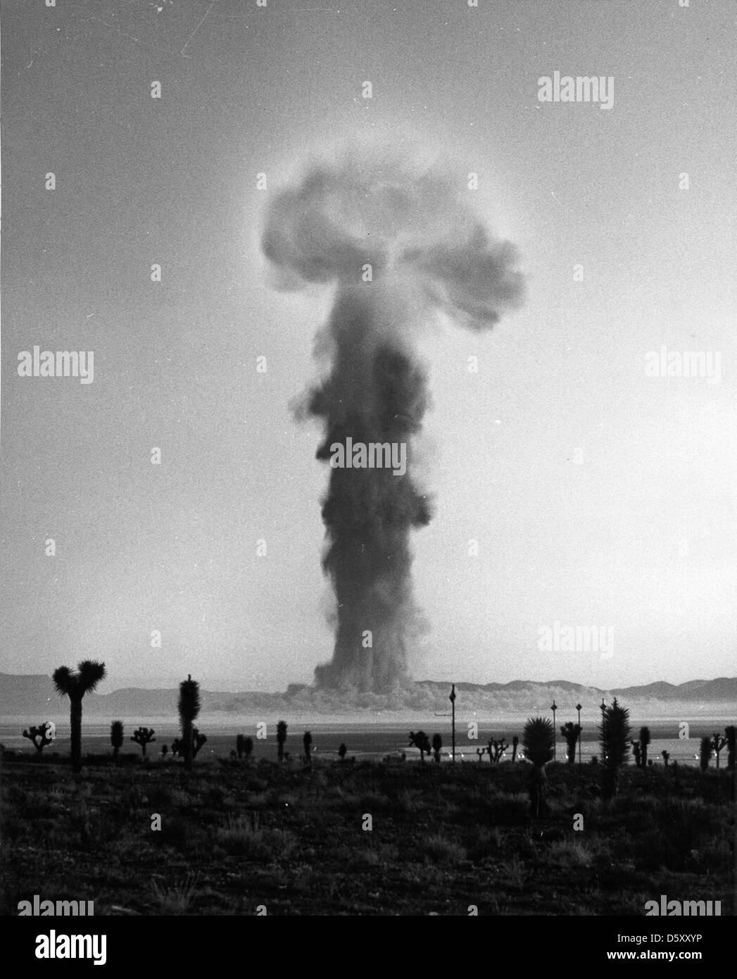 """OPERATION PLUMB BOB"" ""SHOT NEWTON"" on September 16, 1957. Stock Photo"