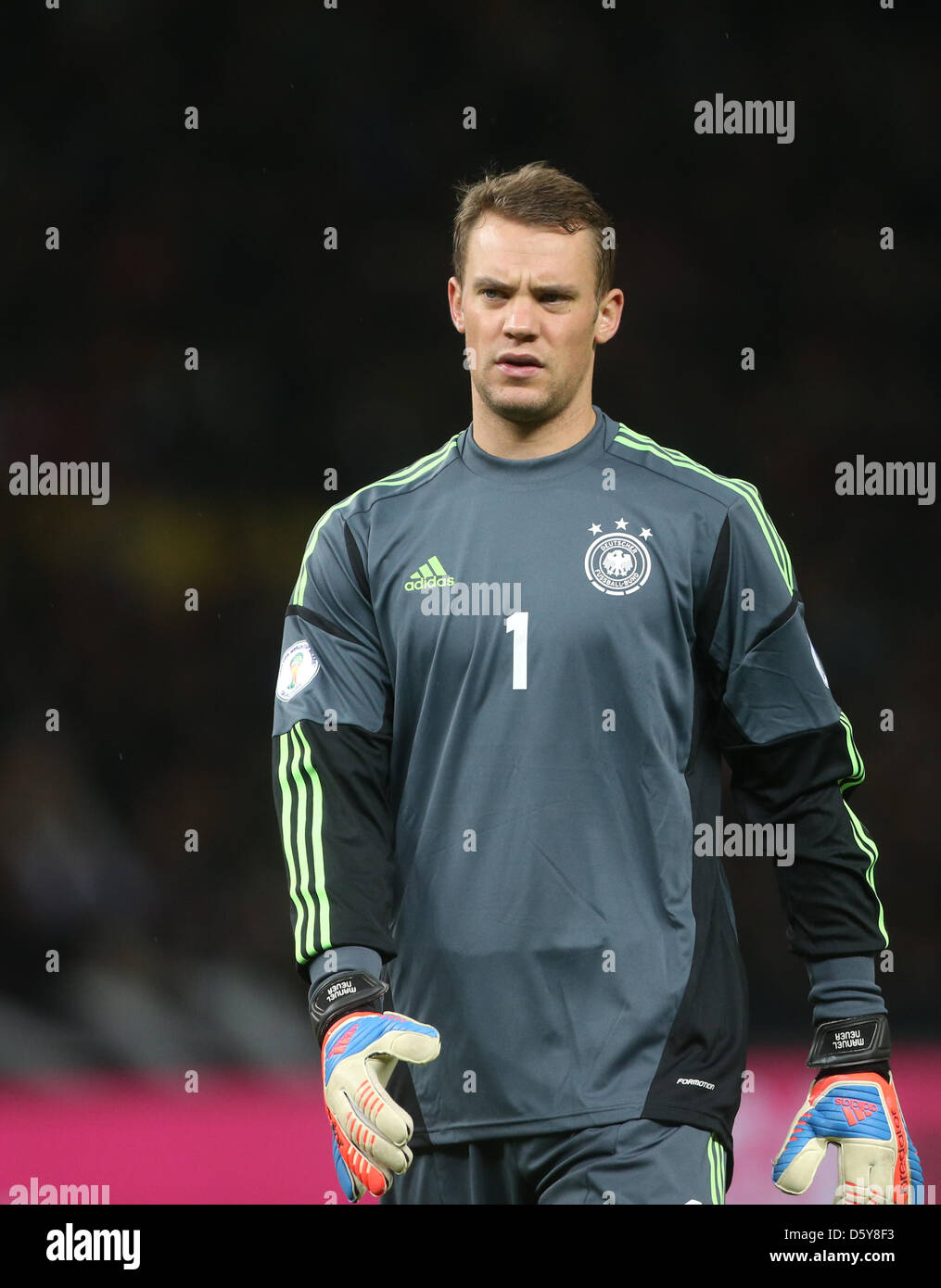 new arrival dd38e 37309 Germany's goalkeeper Manuel Neuer reacts during the FIFA ...