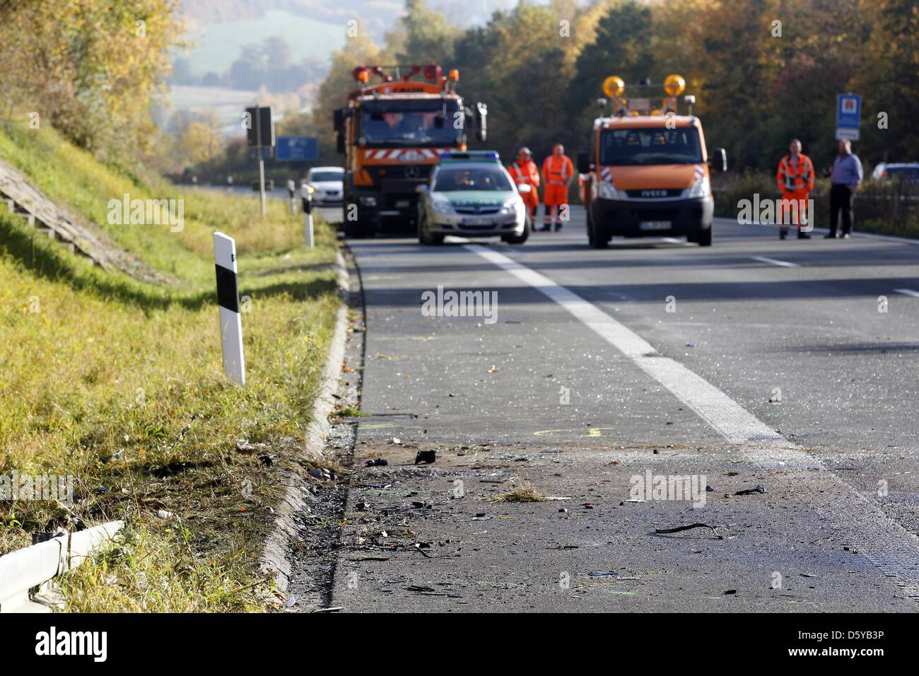 Unfallstelle Stock Photos & Unfallstelle Stock Images - Alamy