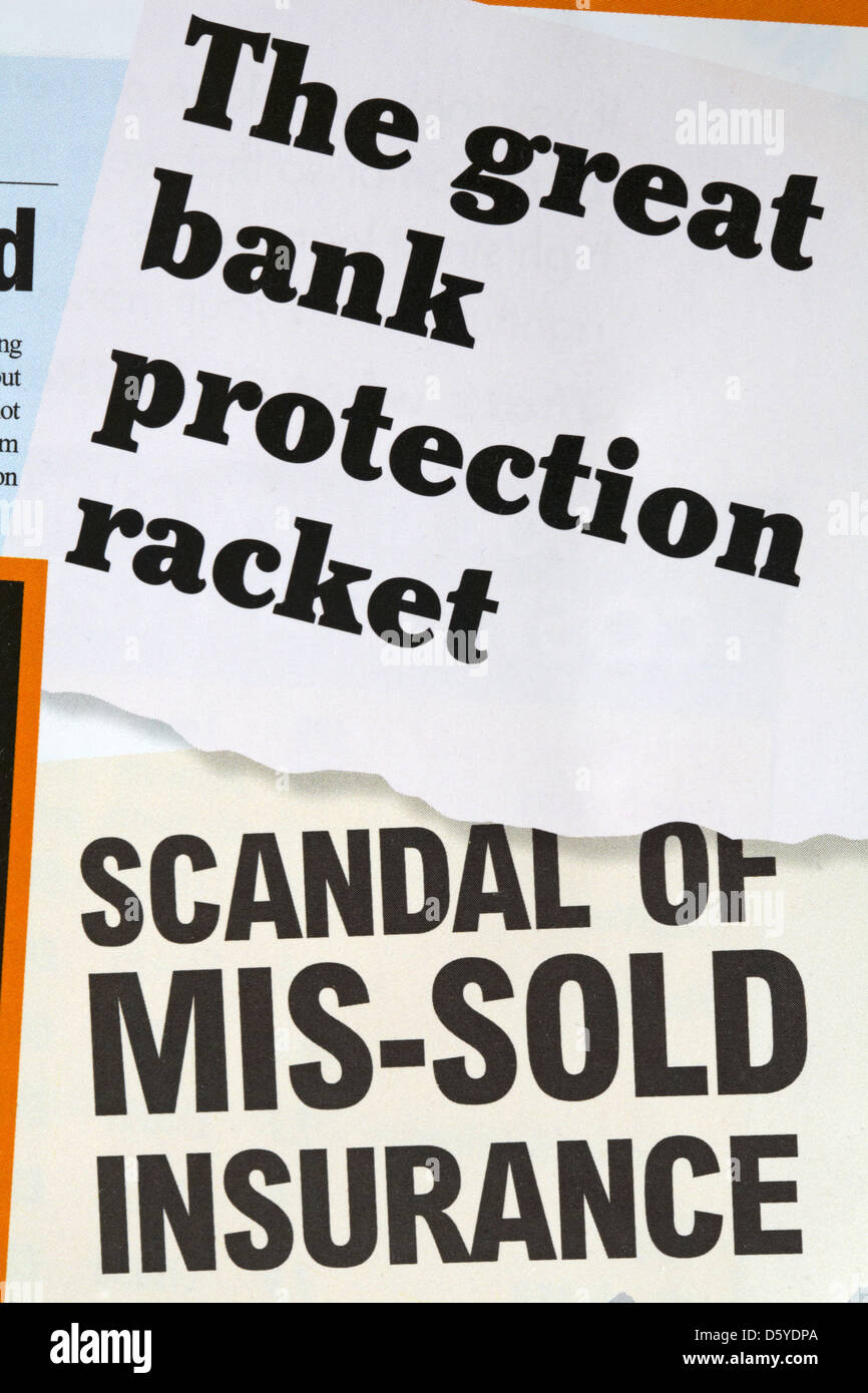 The Great Bank Protection Racket Scandal Of Mis Sold Insurance