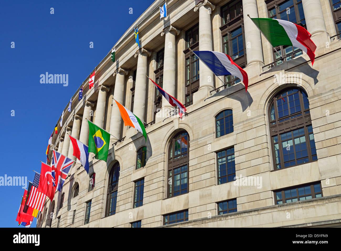 Unilever House, 100 Victoria Embankment, London, United Kingdom - Stock Image