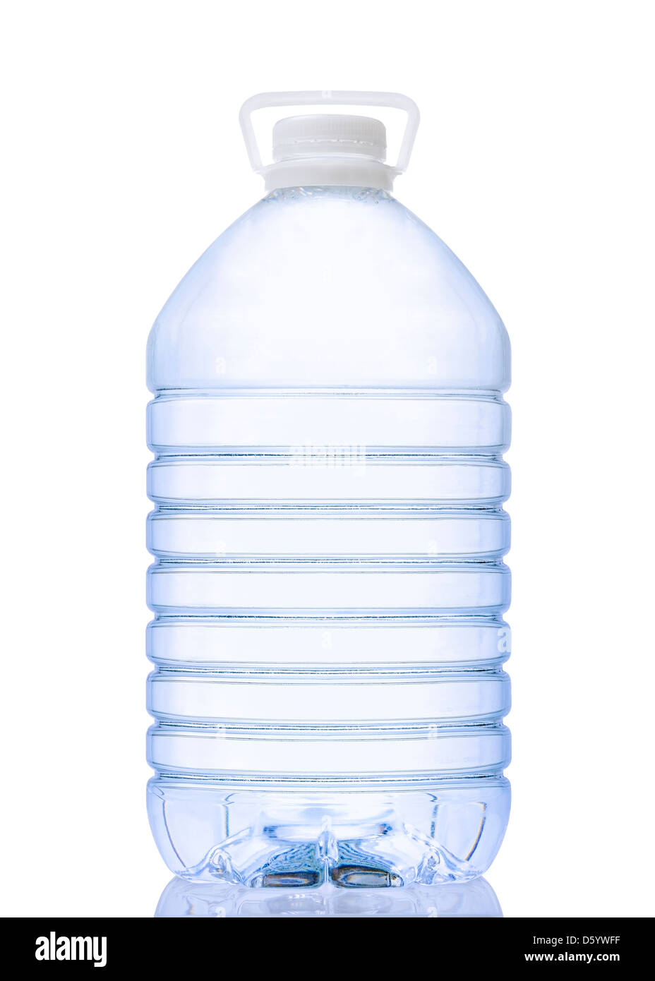 Water Bottle, Cut Out. Stock Photo