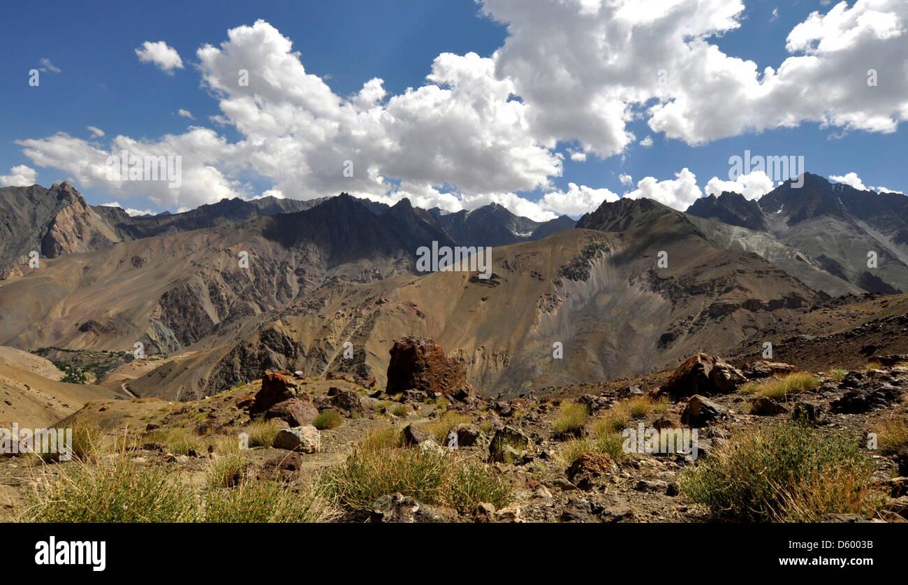 India, Jammu and Kashmir, Ladakh, landscape Stock Photo