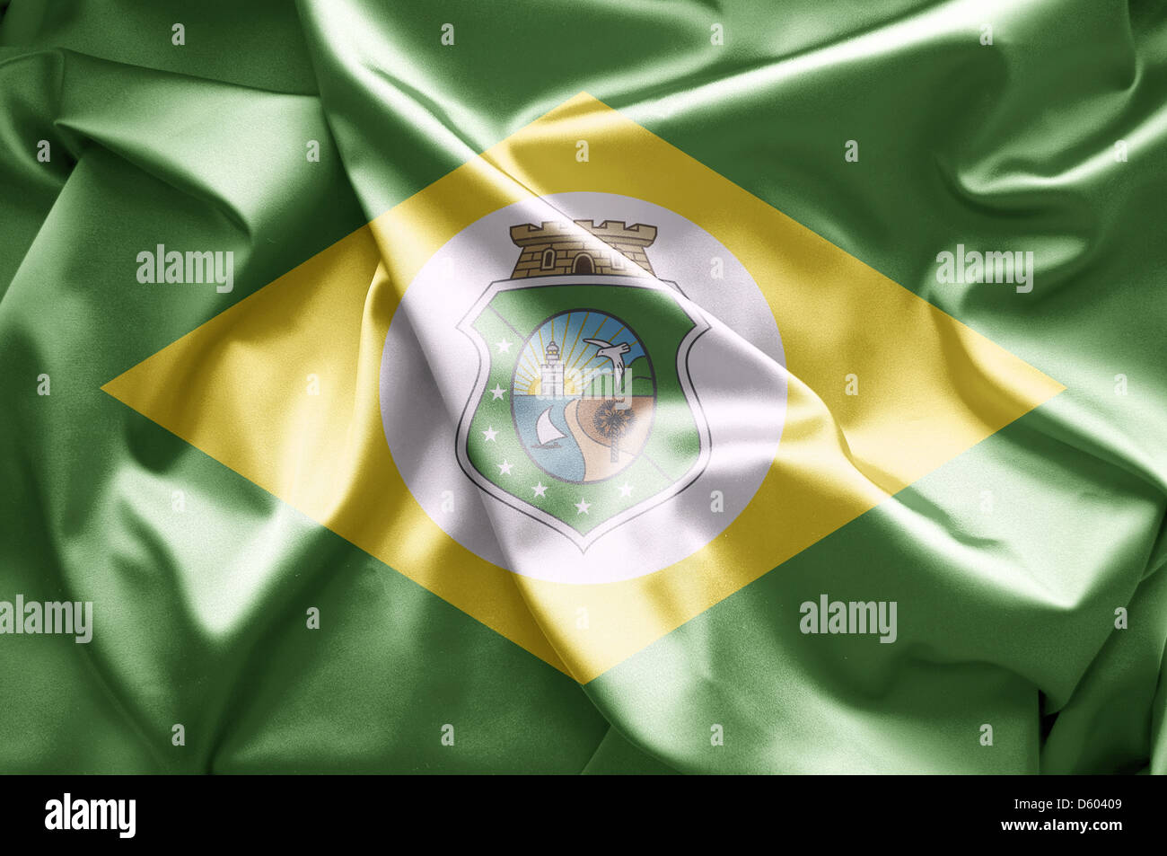 Flag of Ceara Stock Photo
