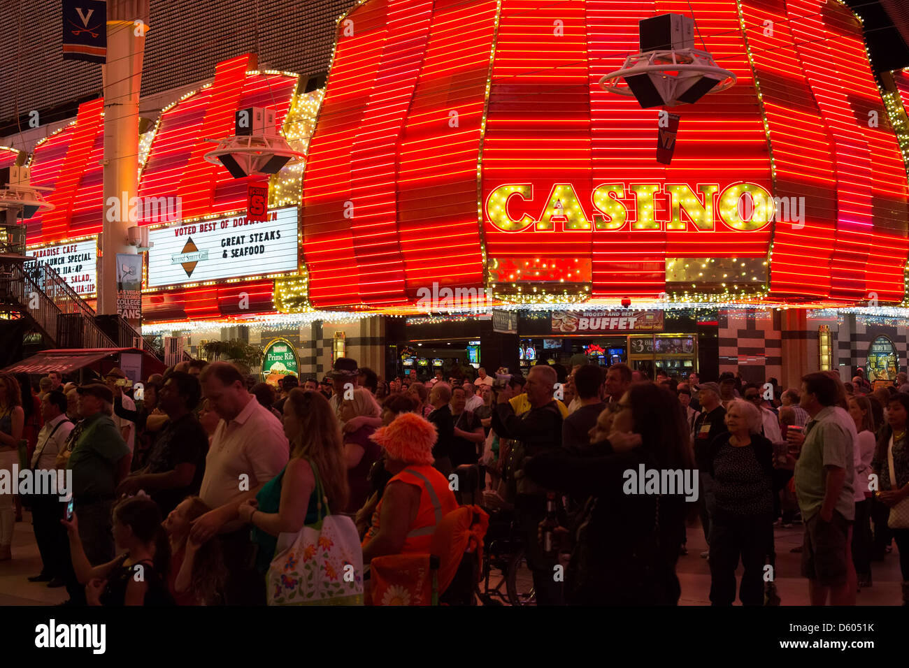 Stupendous Las Vegas Nevada Fremont Street In Downtown Las Vegas Download Free Architecture Designs Crovemadebymaigaardcom