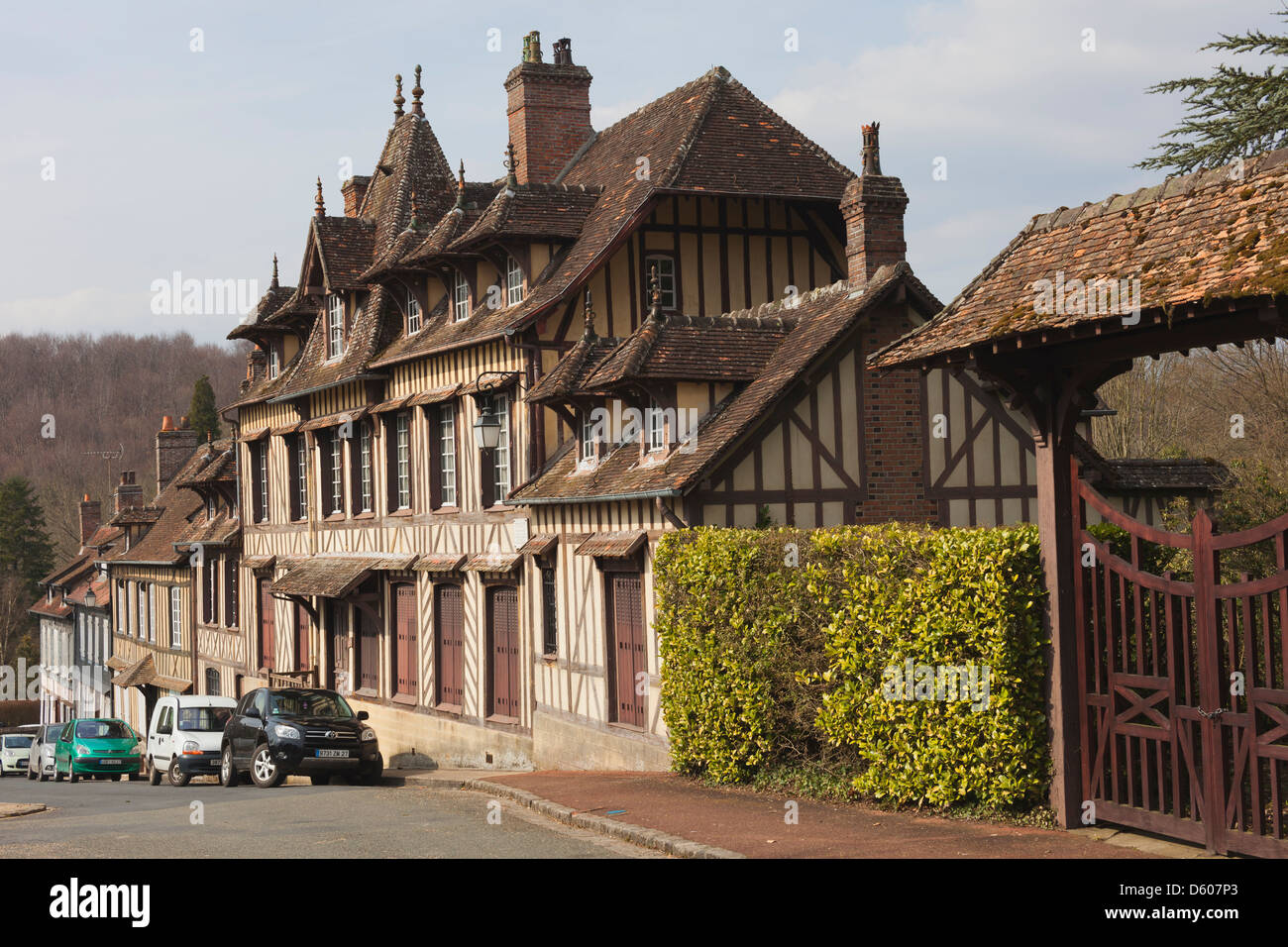 The Mansion Nearest Where Composer Maurice Ravel Often Stayed Stock Photo Alamy