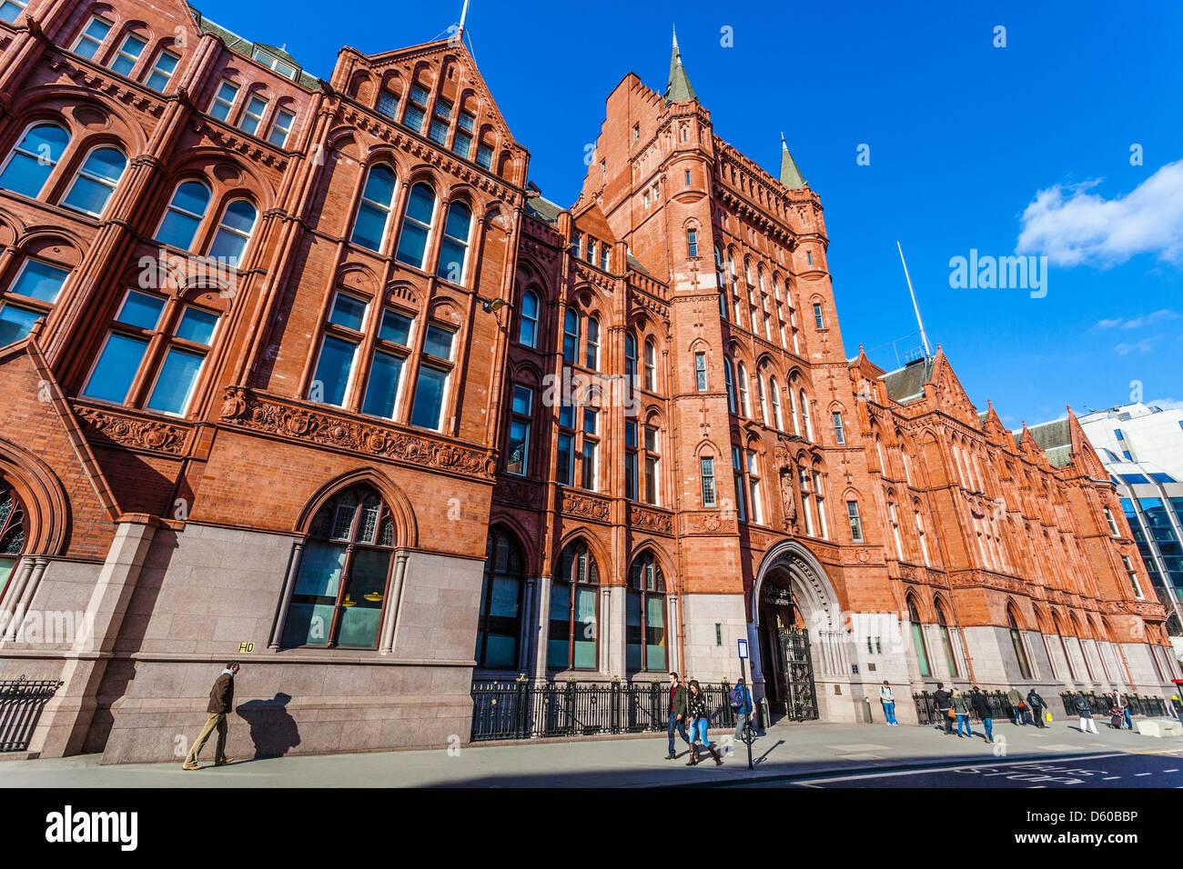 Prudential Assurance Building, aka Holborn Bars, Holborn, London, England, UK - Stock Image