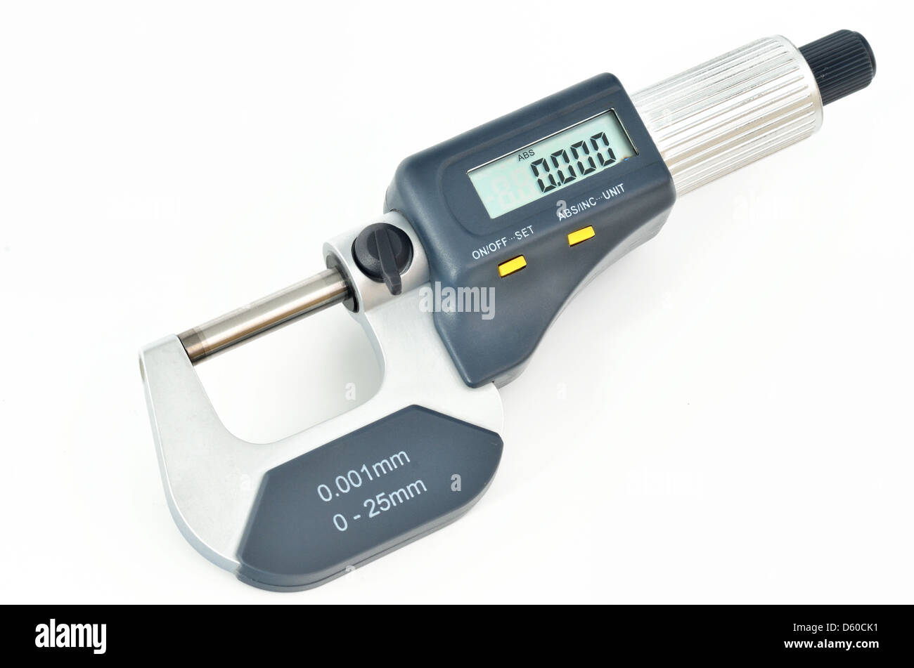Digital micrometer - Stock Image