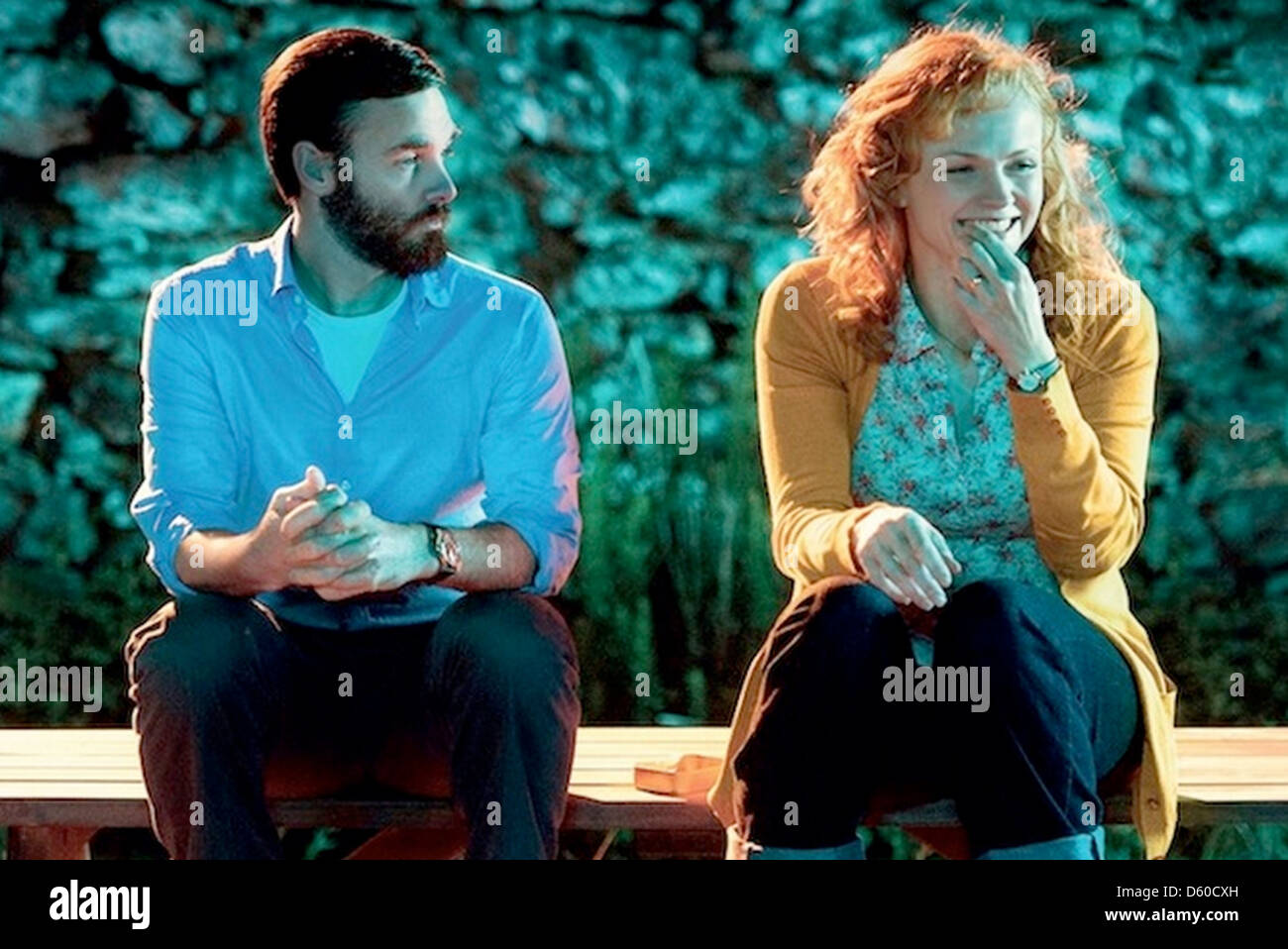 RUN & JUMP 2013 Global Screen film with Will Forte and Maxine Peake - Stock Image
