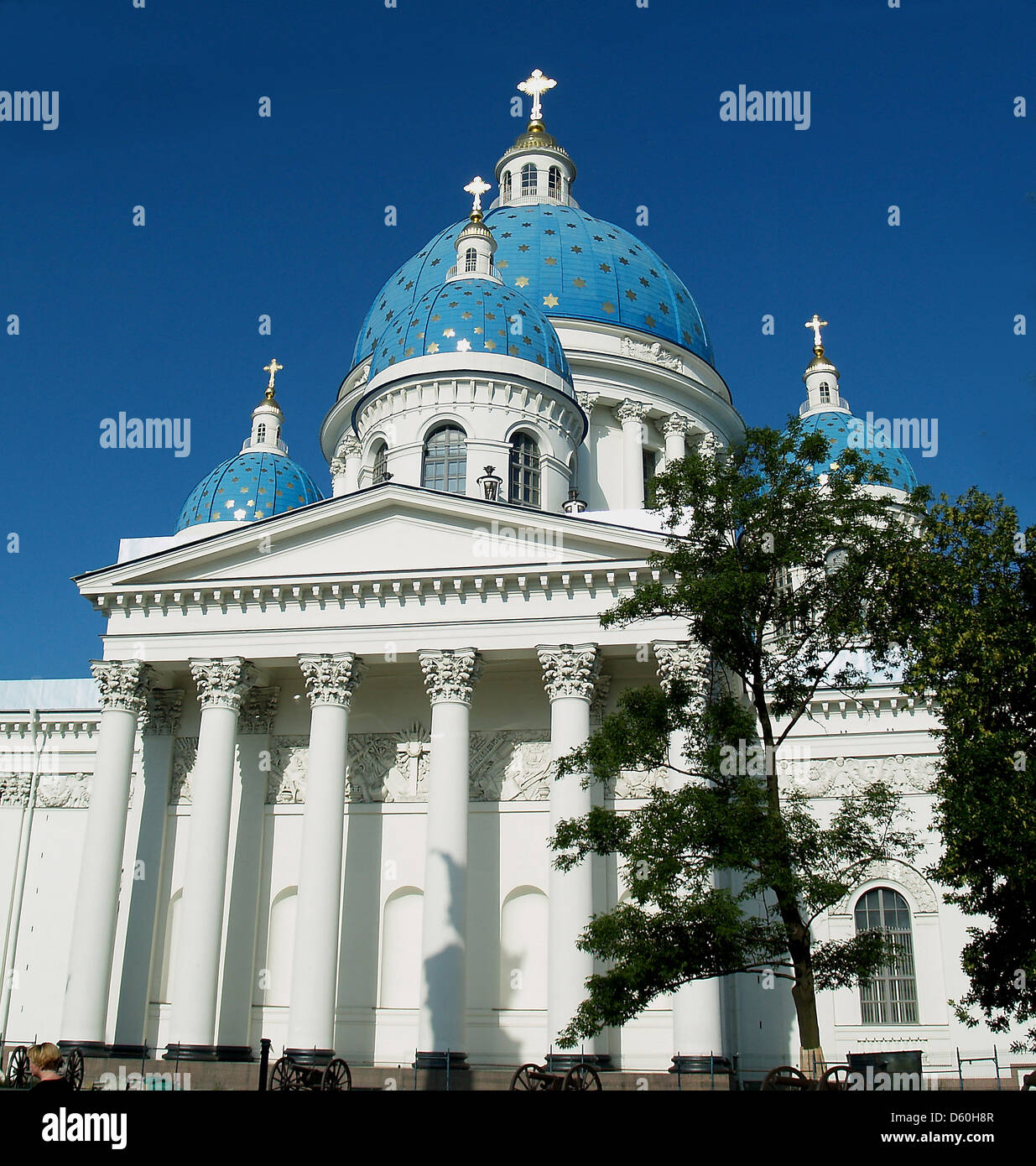 Trinity Cathedral, Saint Petersburg - Stock Image