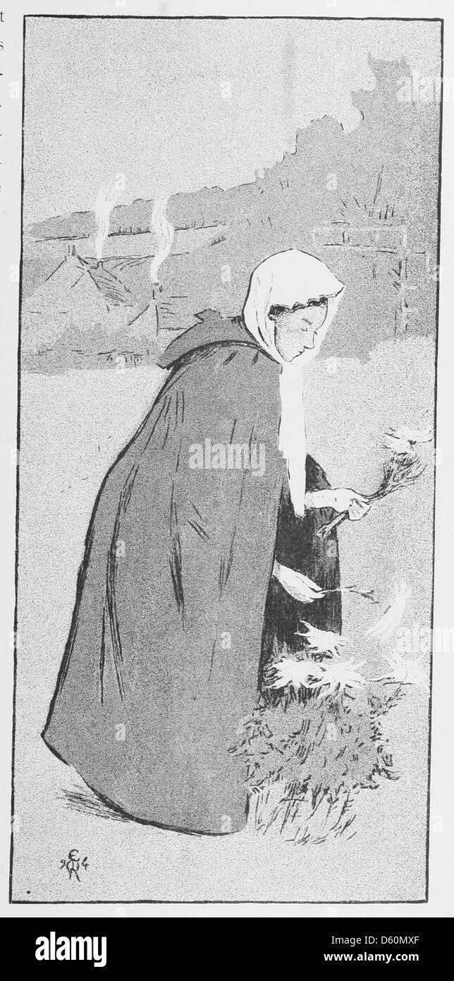 Les affiches illustrées (1886-1895) Ouvrage orné de 64 [i.e. 72] lithographies en couleur et de cent deux - Stock Image