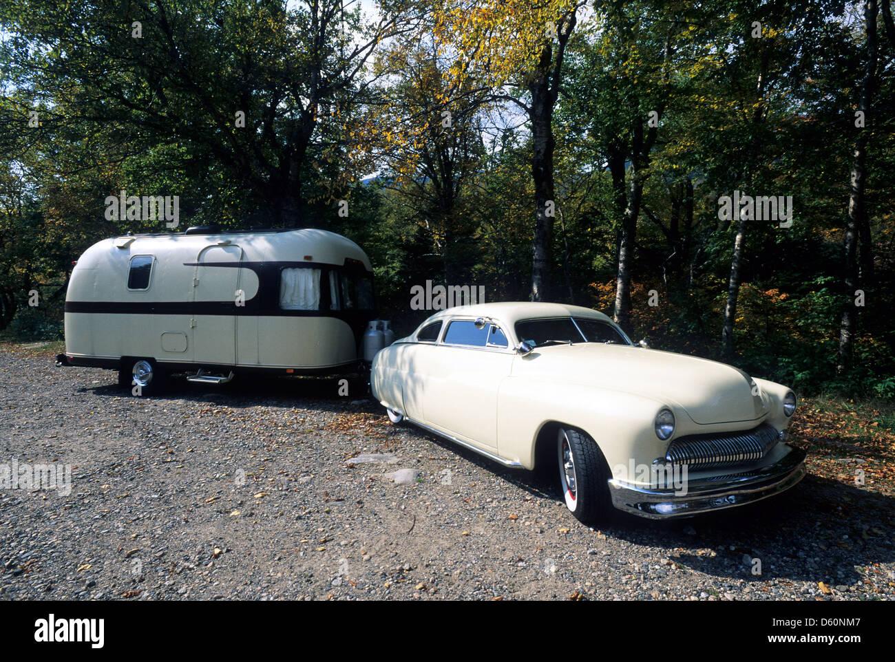 Travel Trailer Vintage Stock Photos & Travel Trailer Vintage Stock ...