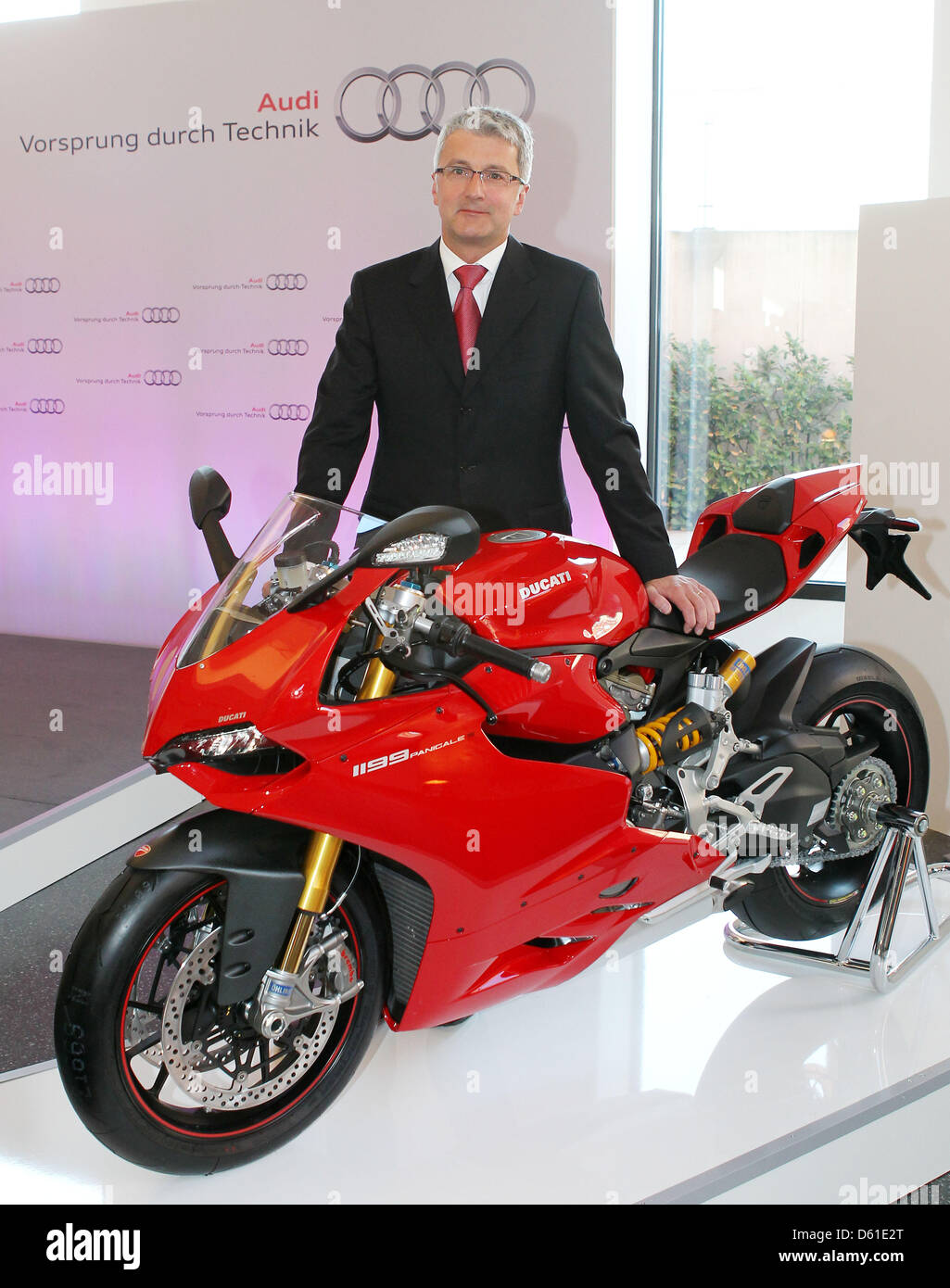 audi ceo rupert stadler poses next to a ducati motorbike at a press stock photo alamy https www alamy com stock photo audi ceo rupert stadler poses next to a ducati motorbike at a press 55352048 html