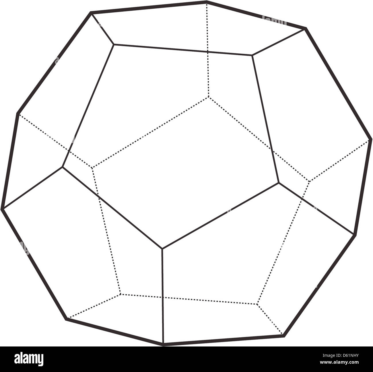 dodecahedron stock photo 55357959 alamy