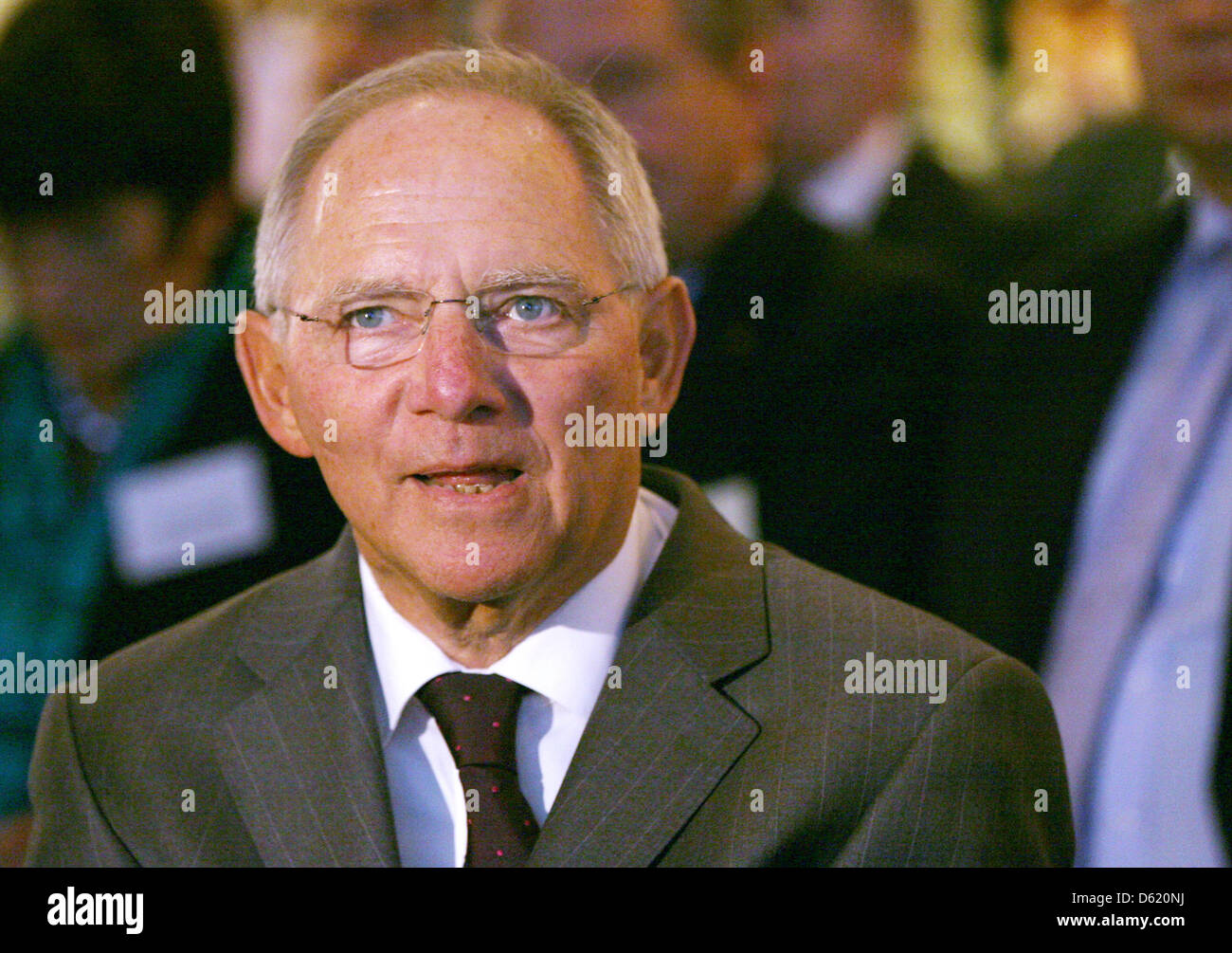 German Minister of Fianance Wolfgang Schaeuble attends the 50th conference of accountants in Berlin, Germany, 7 Stock Photo