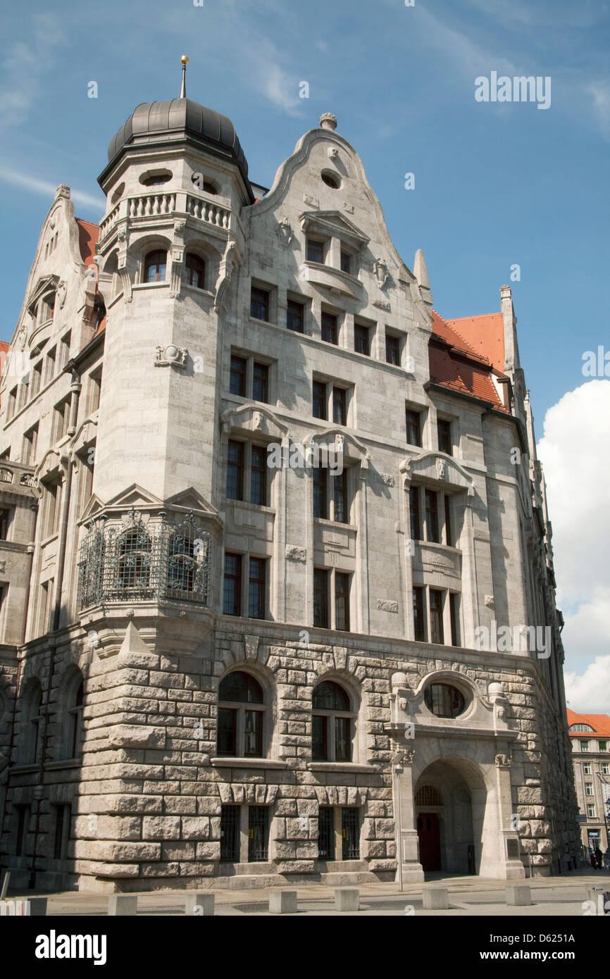 New Town Hall Leipzig Germany Stock Photo Alamy