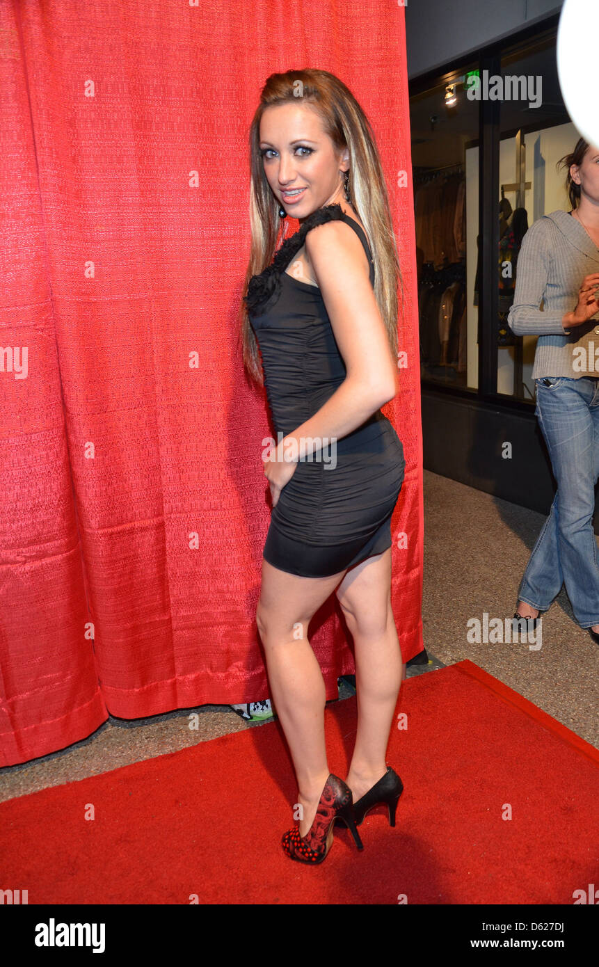 Devanny Pinn Publicist Charmaine Blake's Birthday Party held at Cafe Roma Los Angeles California - Stock Image