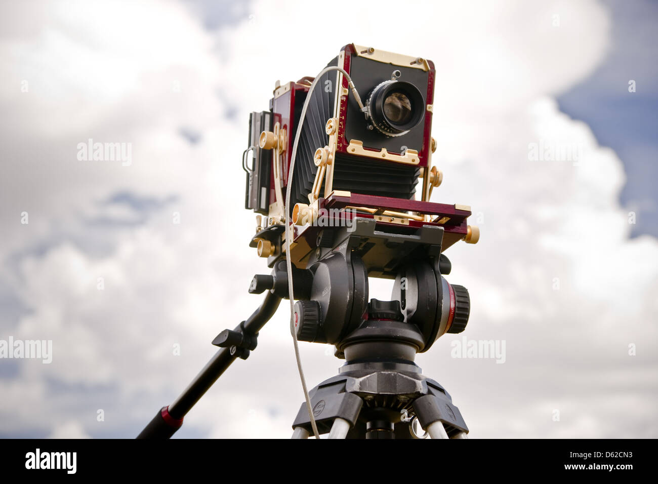 Classic View Camera - Stock Image
